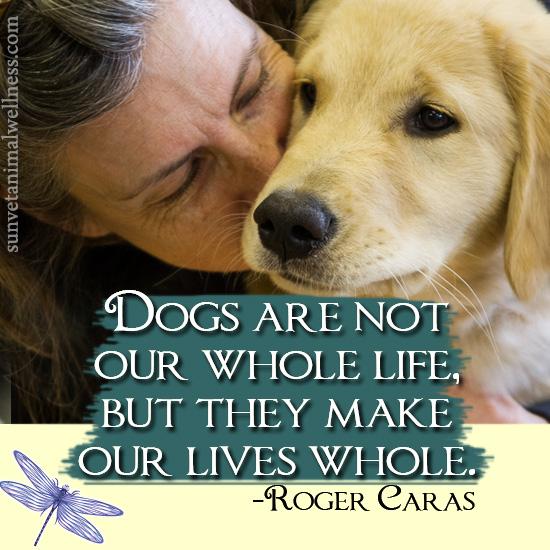 dogs make life whole