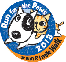 Brother Wolf Run for the Paws