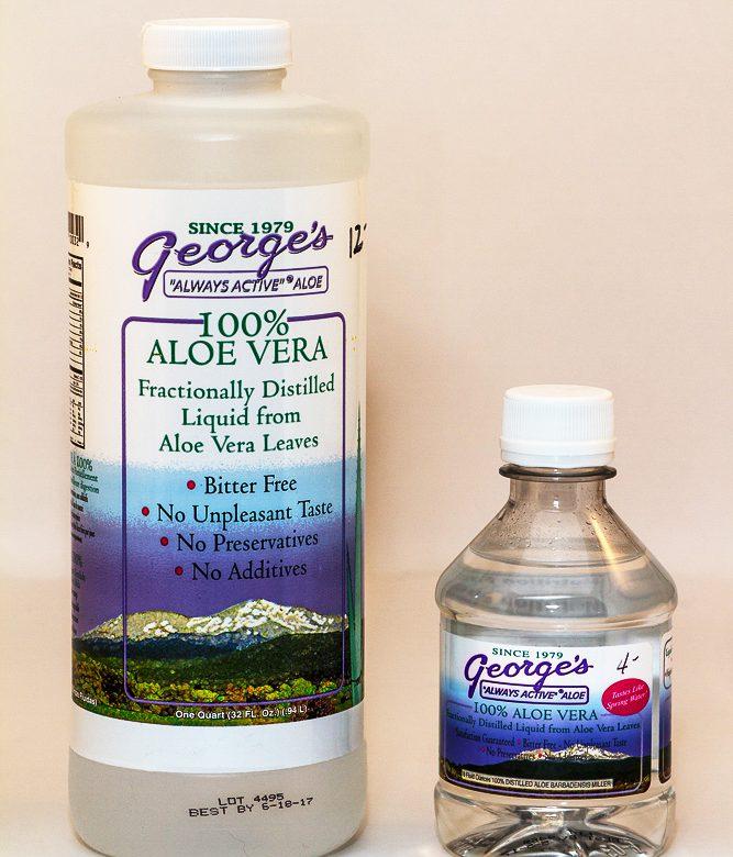 Holistic vet Dr. Laurel Davis recommends George's Aloe